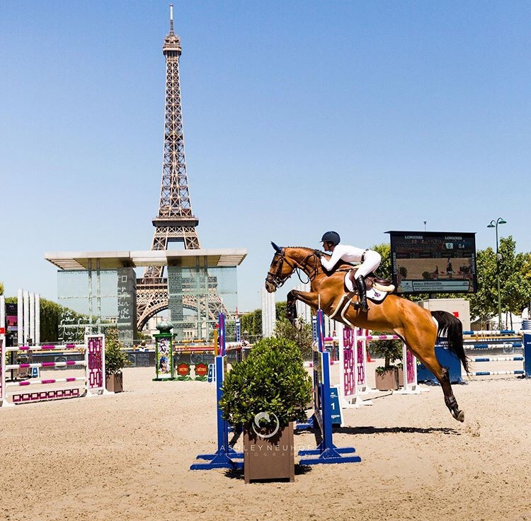 Jessica Springsteen showjumping
