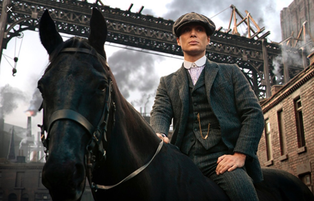 Cillian Murphy riding horse