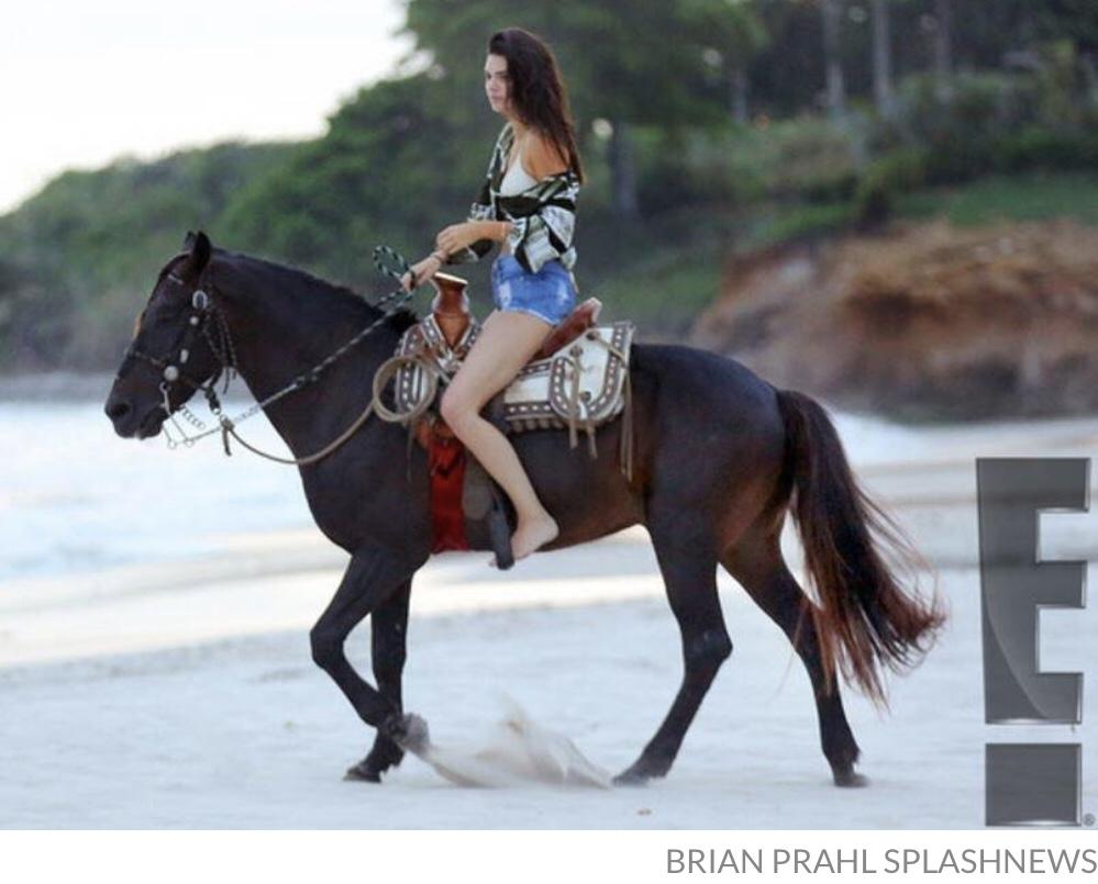 Kendall Jenner Horseriding